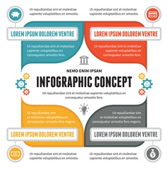 Infographic Concept - Scheme for Presentation vector