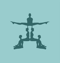 People pyramid vector