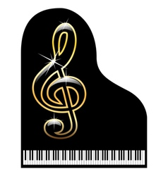 Piano-musical instrument vector