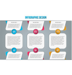 set on gray backdrop marketing strategy vector image