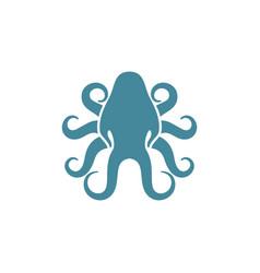 Squid logo design vector