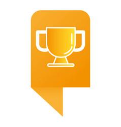 Success trophy cartoon vector