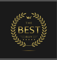the best buy vector image