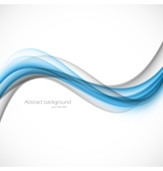 Abstract blue gray wave vector image