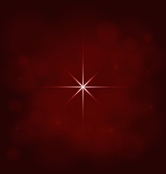 Abstract star magic light sky bubble blur red vector