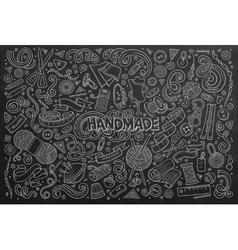 Line art hand drawn doodle cartoon set vector