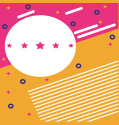 party background card vector image