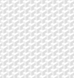 White seamless geometric texture vector image