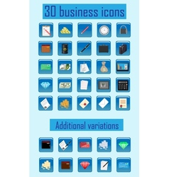 icon business vector image