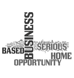 a closer look at different home based business vector image