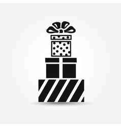 icon Gift box icon vector image
