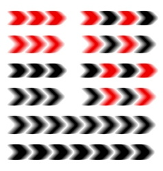Arrow speed motion blur vector