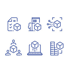 Bim concept 3d modeling services vector