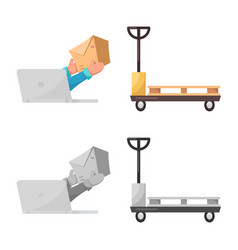 Goods and cargo sign vector
