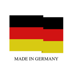 icon made in germany vector image