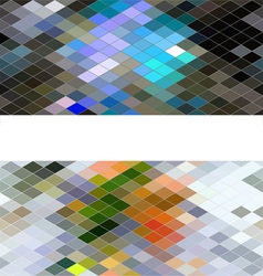 Diamond seamless pattern abstract background vector image
