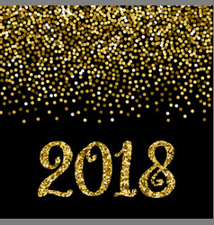 2018 christmas and new year banner vector image