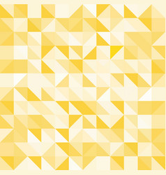 abstract yellow triangle and square in yellow or vector image