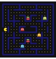 Arcade game concept vector