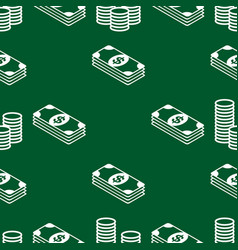 business and finance seamless pattern background vector image