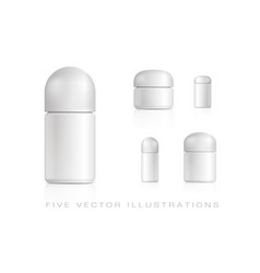 Cosmetic products vector