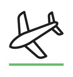 Flight landing vector