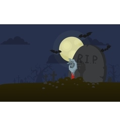Hand from the grave vector