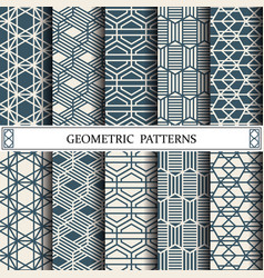 Hexagon geometric patternpattern fills web vector