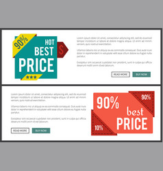 Hot best price set of internet vector