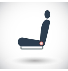 Icon seat vector