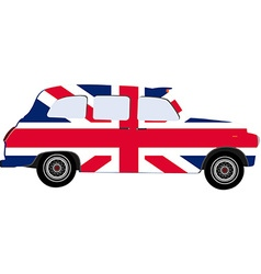London cab vector image