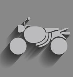 motorcye vector image