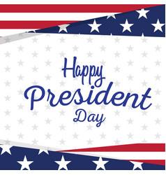 president day banner vector image