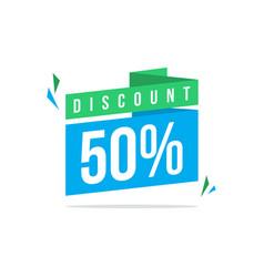 Special offer sale discount design vector
