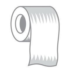 Toilet paper icon3 resize vector image