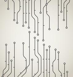 Abstract metro scheme background vector image