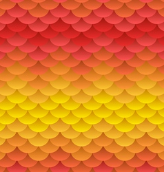 Autumn warm blobs seamless background vector image vector image