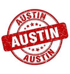 Austin stamp vector