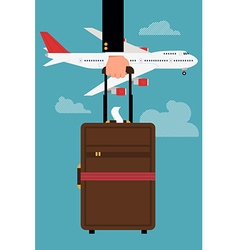 Hand Luggage vector