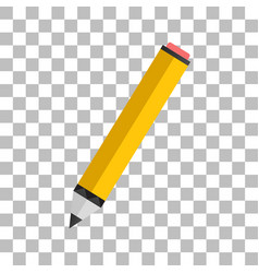 Pencil icon on a white background element vector