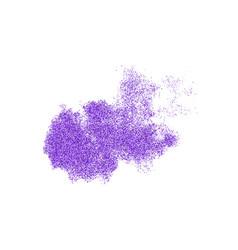 purple explosion of confetti vector image