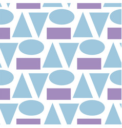 art abstract geometry seamless pattern colour vector image