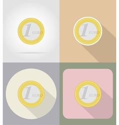 business and finance flat icons 06 vector image