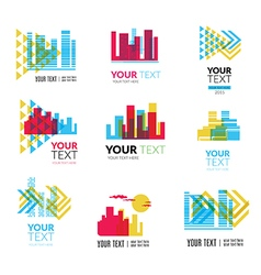 city logo4 vector image vector image