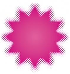 purple star vector image