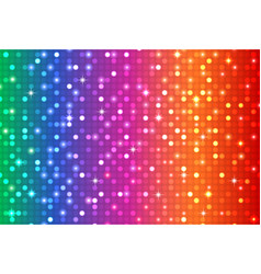 abstract rainbow color background vector image