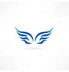 angel icon vector image