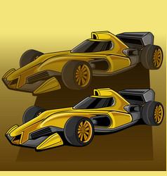 car formula 1 vector image