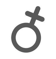female gender symbol icon simple vector image