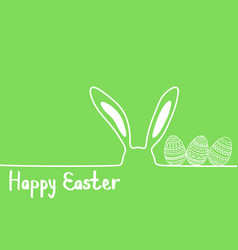 happy easter image modern happy easter vector image